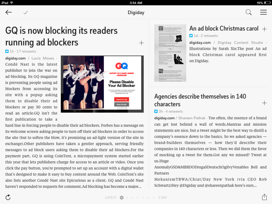 adblockers force ourhand