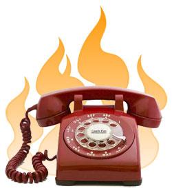 phone-fire