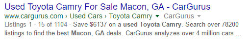 Search Results for local Macon Cars